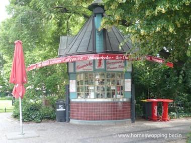 Verkaufsstand Berliner Currywurst, Berlin